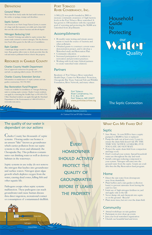 Tri-fold Brochure (2006)