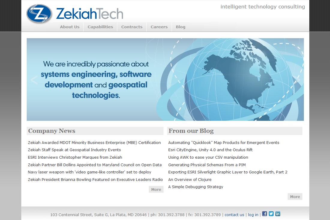 Website Redesign (2010)