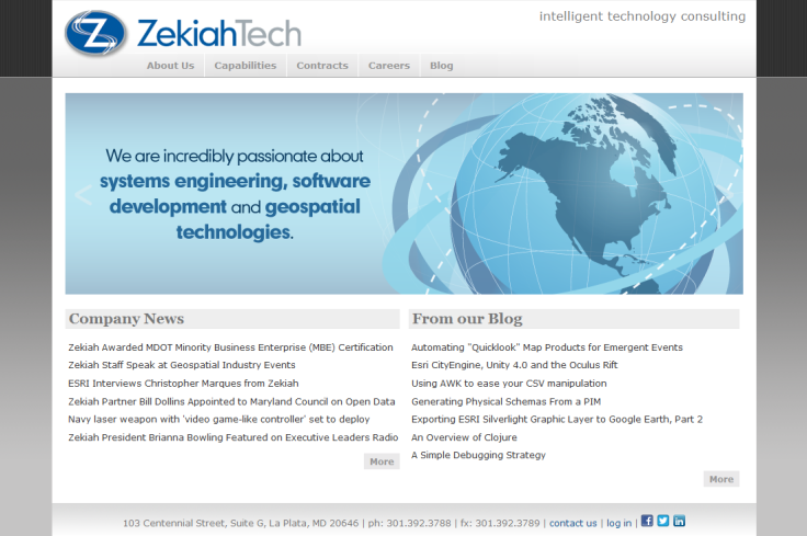 Website Redesign (2010)