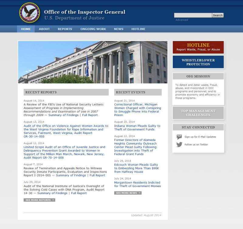 Website Redesign (2012)